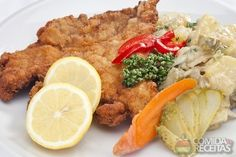 Receita de Bife à milanesa assado em receitas de carnes, veja essa e outras receitas aqui!