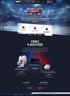 Dribbble - by Michael Čečetka Homepage Design, Newsletter Design, Template Web, Brochure Template, Game Ui Design, App Design, Web Sport, Page Web, Event Banner