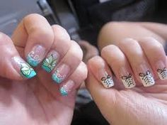 Image result for gel pink pretty nails