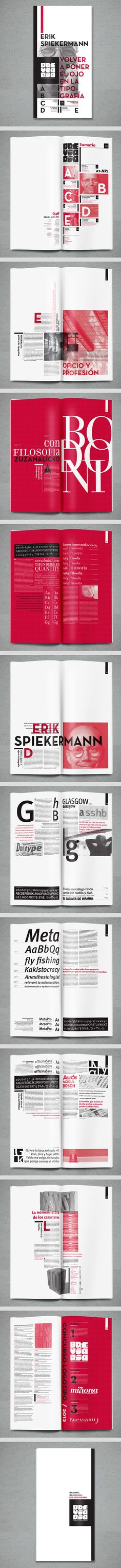 Brevario by Daniel Varela | Media as art | print (book, magazine, newspaper) + typography + editorial + layout + design |