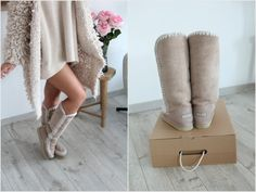 Lene Orvik in MOU boots <3