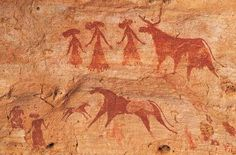 Cave paintings in Chad give scientists clues about the people who lived in the region thousands of years ago