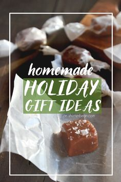 Looking for some homemade gift ideas? Let me hook you UP!  Check out My Homemade Holiday Gifts Ideas on Shutterbean today! http://www.shutterbean.com/2016/homemade-holiday-gift-ideas-2016/