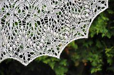 echo flower lace shawl FREE pattern