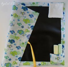 Chalk cloth play mat!