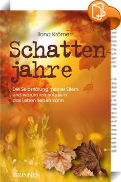 Schattenjahre    ::  Ilona Krömer lebt glücklich mit ihrem Mann und den kleinen Töchtern in Zeitz/Sachsen-Anhalt. Auch ihren Eltern fühlt sie sich eng verbunden. Als ihre Mutter sich das Leben nimmt, bricht die Welt der Familie zusammen. Ilona nimmt ihren Vater sofort zu sich, denn sie möchte nicht auch noch ihn verlieren. Doch sie kann nicht verhindern, dass er seiner Frau folgt. Kann der Glaube an Jesus Christus Ilona jetzt tragen? Und wird sie ihren Eltern den Schritt jemals verzei...