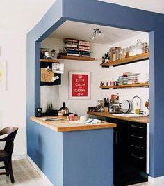 Ambientes pequenos: Cozinha americana: 15 lindas cozinhas para você se inspirar