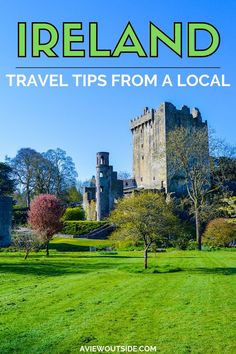 Visiting Ireland soon? Wondering what you need to know, pack, prepare before your visit? Then this comprehensive guide has you covered - plus its written by a local. #irelandtraveltips #irelandtips #heritageireland #aviewoutside