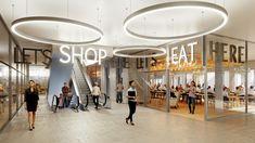 Schoping Center in Zürich, TK Architekten Interior Rendering, Interior Architecture, Image, Architecture, Pictures