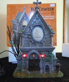 Dept 56 Snow Village Halloween The Travis Louie Walter Larry's Crypt | eBay