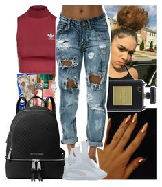 """Fall #12"" by msixo ❤ liked on Polyvore featuring Topshop, MICHAEL Michael Kors and Puma"