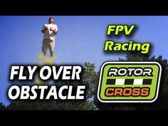 FPV Racing: Flyover Obstacle // Naze32 Sunnysky 2204 QAV250 // Rotorcross @ Masterblaster - YouTube