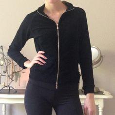 BCBG Maxazria terry cloth zip up M Mint condition BCBG terry cloth zip up sweatshirt. No fading. Make me an offer!NO TRADES BCBGMaxAzria Tops