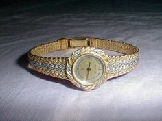 vintage ladies bucherer watch silver gold by qualityvintagejewels, $185.00