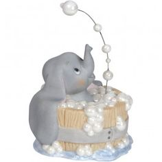 Precious Moments Disney Showcase Collection Bubbling Over With Happiness Bisque Porcelain Figurine 143706 -- Check this awesome product by going to the link at the image. Disney Precious Moments, Precious Moments Figurines, Disney Figurines, Collectible Figurines, Best Birthday Gifts, Birthday Fun, Baby Mine, Disney Cakes, Just Because Gifts