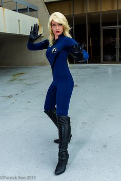 Invisible Woman Cosplay Invisible woman, Fanta...