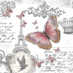 Imágenes Vintage, Antiguas, Retro, con Diseño para transferir o imprimir…