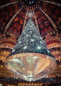 Galeries Lafayette Christmas Tree, Paris