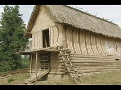 video/investigating 5000 year old huts in Ukraine