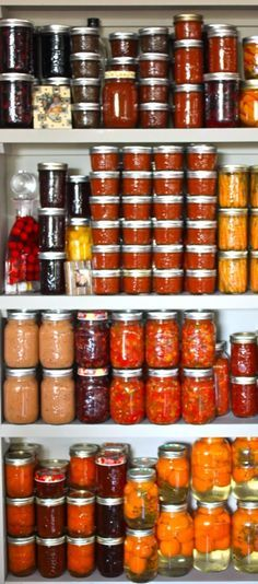 <3 CANNING & PRESERVING FOOD