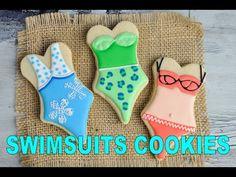 Swimsuit Cookies https://www.youtube.com/watch?v=pYEEIZS6OPQ #hanielas #summer…