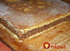 Dokonalý francúzsky krémeš s orechmi a vanilkovým krémom: Delikatesa, po ktorej si oblížete všetky prsty! Oreo Cupcakes, Cake Cookies, Czech Recipes, Ethnic Recipes, Sweet Cakes, Sweet Desserts, Nutella, Tiramisu, Sweet Tooth
