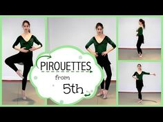 Help with Pirouettes from 5th | Kathryn Morgan - YouTube