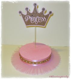 SET OF 2  Princess Stands  Cakepop / Lollipop by GlitterMagic23s, $50.00