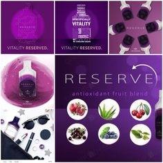 RESERVE™ is a unique blend of superfruits containing a powerhouse of antioxidants that work together as a defense against free radical damage. Mobile App, Stem Cells, Live Long, Tricks, Internet Marketing, Motivation, Alcohol, Cosmetics, Blog