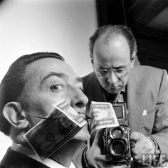 Salvator dalì, 1954. Photographers   Philippe Halsman