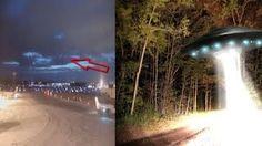 AMAZING NEW UFO Fleet Seen In Brisbane Australia January 2017