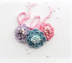 Crochet collar  gargantilla  ganchillo pulsera  por CraftsbySigita