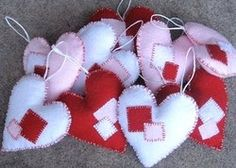 Crafted: How to: Heart Garland, Valentines Day Craft Informatio Heart Garland, Diy Garland, Garlands, Valentines Day Hearts, Valentine Day Crafts, Saint Valentin Diy, How To Make Stencils, Craft Day, Valentine's Day Diy
