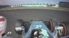 ROS forces his way past RAI to take P4 - but not without tagging the Ferrari man's front wing on his way