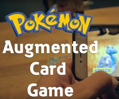This video goes through the process of making an augmented reality app with Unity 3D and the Vuforia plugin for use with Pokemon cards. I always thought something like this should have existed and I am really surprised Nintendo has not yet capitalized. An image of your Pokemon card gets loaded into an image database and when your phone camera picks up that image it renders the 3d version of that Pokemon over top of the card. This tutorial then goes through how to set up two attacks, water…