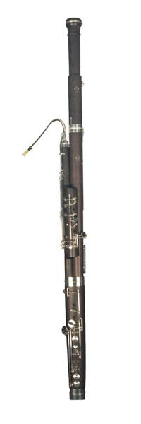 French Bassoon, unknown maker or year
