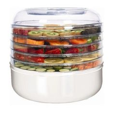 Ronco FD1005WHGEN 5-Tray Electric Food Dehydrator Review http://www.naturallivingtimes.com/