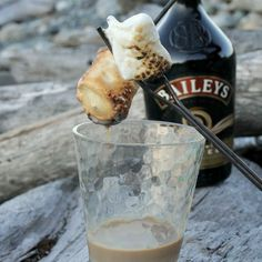 Bailey's-Dipped Toasted Marshmallows | 27 Delicious Recipes To Try On Your Next Camping Trip