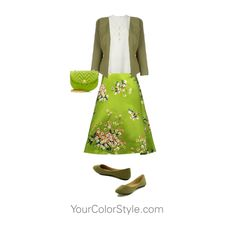How To Wear Bright Spring Green