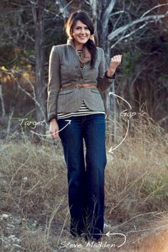 Pretty fall outfits with blazer inspiration (15)