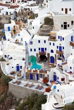 Oia - Santorini - Greece (von Waqas Ahmed) - going to be here soon! Oia Santorini Greece, Santorini Island, Crete Greece, Athens Greece, Places Around The World, Oh The Places You'll Go, Places To Travel, Vacation Destinations, Dream Vacations