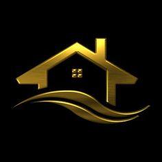 Real Estate Logo Design, Design Logo, Business Logo Design, Business Card Logo, Logo Inspiration, Inmobiliaria Ideas, Construction Logo Design, Security Logo, Interior Logo