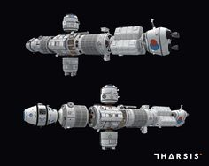 Tharsis - Mars transport ship