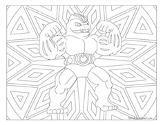 Free printable Pokemon coloring page-Machoke. Visit our page for more coloring! Coloring fun for all ages, adults and children. Manga Coloring Book, Boy Coloring, Cute Coloring Pages, Adult Coloring Pages, Coloring Pages For Kids, Free Coloring, Coloring Books, Coloring Stuff, Pokemon Coloring Sheets