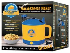 Unitasker Wednesday: Electric Mac and Cheese Maker - Unclutterer