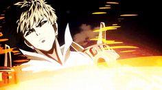 One Punch Man - Genos VS Saitama