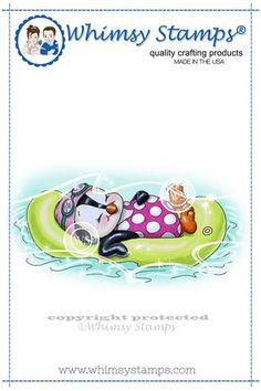 *NEW Penguin Floating