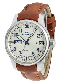 Fortis Aviatis Recon Big Day/Date Limited Edition Limited Edition Watches, Mechanical Watch, Luxury Watches, Cool Watches, Big Day, Omega Watch, Super, Accessories, Watches