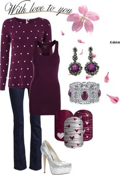 """""""With love to you"""" by rebeccacoyne ❤ liked on Polyvore"""