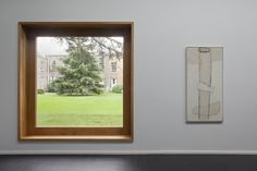 Heong Gallery at Downing College by Caruso St John Caruso St John, Roman Concrete, Square Windows, Modern Windows, Ground Floor Plan, Roof Light, Modern Buildings, Public Art, Strip Lighting